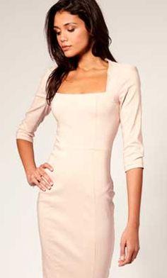 бесплатные выкройки платьев - модель молочного платья