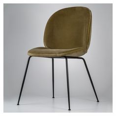 Designed in 2013 and first presented at Milan's annual Mindcraft exhibition, the Beetle Dining Chair is the creation of young design duo, Enrico Fratesi and Stine Gam, and is inspired by the shape, shell and structure of the eponymous insect.