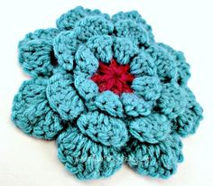 Make into a pin and add to any crowl scarf! Cute!
