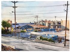 Son Do Watercolor, Urbanscape