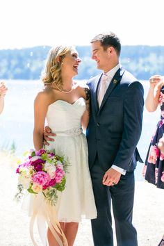 Husband and Wife - Tacoma Wedding Photography