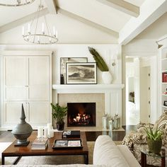 Off Center Fireplace Design Ideas, Pictures, Remodel, and Decor ...