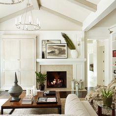Off Center Fireplace Wall Bing Images Design Ideas