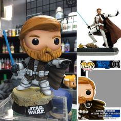 Custom Funko Pop - Clone Wars General Kenobi (Clone Trooper Armor) by Jeff Jongko @DreamsOfPop (just a coincidence that matches the name of this board!) Without a custom box is $150usd shipped worldwide from the Philippines. With a custom box the price is $200usd shipped. https://www.facebook.com/DreamsOfPop/photos/pb.636421299749971.-2207520000.1486117916./1289451541113607/?type=3&theater