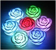 Artistic Rose Lamp Design
