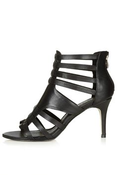 6250dca81f0b NEVE Strappy Sandals Caged Heels
