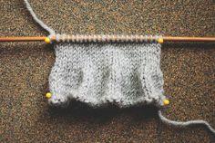 Knitting Edges: ruffle