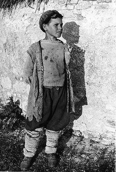 Italy--WW II (1945) Italian farmer's son.     #TuscanyAgriturismoGiratola