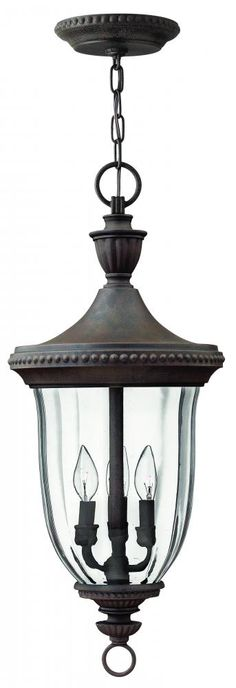 Three light midnight bronze hanging lantern 1242mn lights fantastic