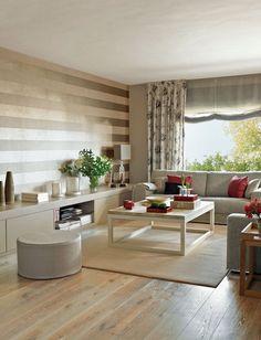 12 buenas ideas para renovar el salón · ElMueble.com · Salones - #decoracion #homedecor #muebles