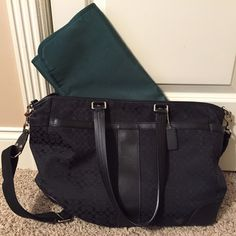 Coach Baby Bag Good gently used condition with minor scuffs. Bundle for additional savings. Firm on price.  See separate listing for more pics. Coach Bags Baby Bags