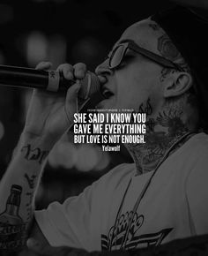 Love isnt enough yelawolf
