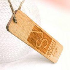 Wooden Hang Tag