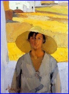 Le Chapeau de Paille 1925 huile sur toile 86 x 66 cm Athens, National Gallery.jpeg