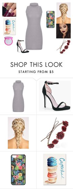 """A Outfit"" by jordanbond55 ❤ liked on Polyvore featuring Boohoo, Forever 21, Disney, Trademark Fine Art and Jeffree Star"