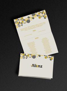 Diseño de Invitación para una graduación de Secundaria.