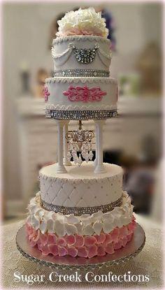 Tina Balsamo's Elegant Cake