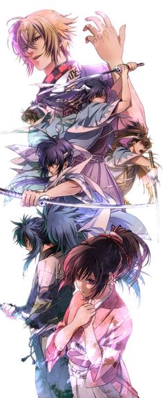 Hakuoki. OMG! I've just finished watching season 1 & 2. It's soo sad, I can't believe it ended like that!