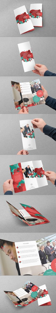 Trifold Design by Abra Design, via Behance