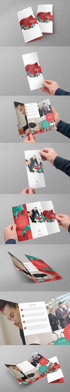 Trifold Design by Abra Design, via Behance