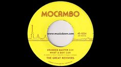The Great Revivers - Drunken Master [Mocambo] 2013 Russian Deep Funk 45