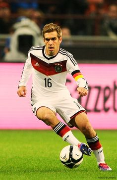 Germany's previous captain Phillip Lahm