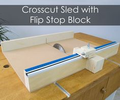 After I made my table saw fence for my homemade workbench I realized that I also need to build a crosscut sled as soon as possible.A crosscut sled is a MUST HAVE for...