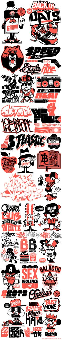 Misc. logos | illustrations by 123Klan
