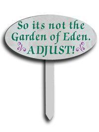 garden signs - Google Search