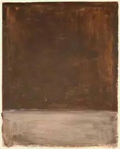 The Dark paintings Part 3, 1969, Mixed media on canvas or Paper