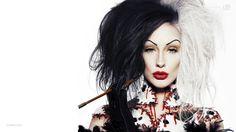 Cruella de Vil by ellimacs sfx makeup
