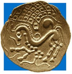Celtic coin of the Parisii, Gaul, c.100-75 BC