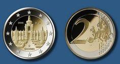 Der Dresdner Zwinger ziert eine neue Münze zu 2 Euro (Abb. BADV).