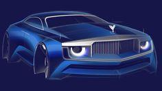 "107 Likes, 3 Comments - Vasiliy Markin (@vasiliymarkin_sketch) on Instagram: ""#rollsroyce #rr #cardesign #car #vehicle #sketch #drawing #design #portfolio #sport #sportcar…"""