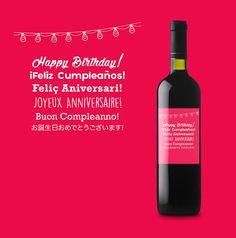 ¿Tienes un cumpleaños? ¿Es tu aniversario? ¿Tus amigos se casan? ¿Un nuevo miembro en la familia? En etiquetatuvino.com tenemos etiquetas para cada uno de los momentos especiales para que descorchar un buen vino por las celebraciones sea aún más especial.