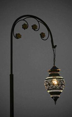 Marrakesh Street Lamp by Robs Photo's Lantern Lamp, Candle Lanterns, Candles, Lampe Laser, Lamp Light, Light Up, Luminaire Design, Street Lamp, Moroccan Style