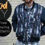 Mood DIY: Free Reversible Bomber Jacket Sewing Pattern