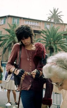 Keith Richards in the south of France, 1971.