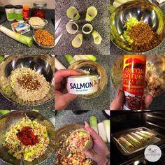 Canelones de lentejas con arroz y salmón envueltos en puerro - YANOESTOYGORDA by netastyle Coco, Table Decorations, Foods, Random, Blog, Spice, Easy Recipes, Onion, Healthy Food