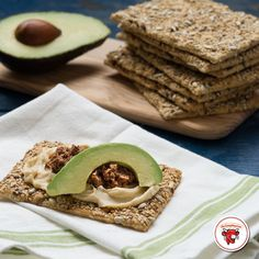 Reinvent the stuffed avocado. Cover a thick wheat cracker with Creamy Spicy Pepper Jack, an avocado, and bacon jam. Ingredients The Laughing Cow Creamy Spicy Pepper Jack Avocado Bacon Jam Thick Wheat Cracker