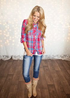 Barbie Lumberjack Top