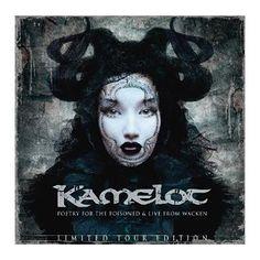 """L'album dei #Kamelot intitolato """"Poetry For The Poisoned"""" in formato tour edition con CD bonus e 8 tracce live, registrate durante il Wacken 2010."""