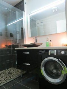 les 25 meilleures id es de la cat gorie lave linge noir sur pinterest lave linge encastrable. Black Bedroom Furniture Sets. Home Design Ideas