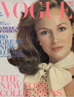 Karen Graham Vogue 1973 by Richard Avedon (20 Covers for Vogue)