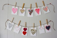 valentines love notes DIY by Rebecca Caridad