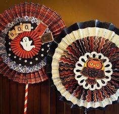 Halloween Paper Crafts, Halloween Banner, Halloween Projects, Halloween Cards, Holidays Halloween, Vintage Halloween, Fall Crafts, Halloween Diy, Happy Halloween