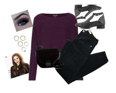 """""""jj"""" by grazielle-gaga ❤ liked on Polyvore featuring Olsen, Topshop, Brandy Melville and Loeffler Randall"""