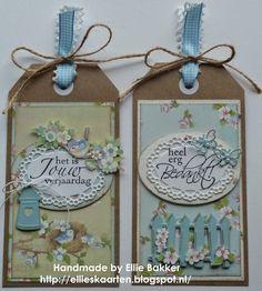 Ellie's Kaarten: Cadeaulabels