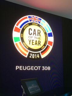 Peugeot var stolte over deres nye hæder. Det kan man godt forstå!