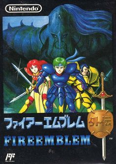 Fire Emblem Gaiden is a Strategy game, developed by Intelligent Systems and published by Nintendo, which was released in Japan in Video Game Posters, Video Game Art, Games Box, Old Games, Arcade, Retro Video Games, Retro Games, Nintendo, Pc Engine